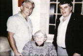 MacDonald, his mother, Dorothy and brother, Jay