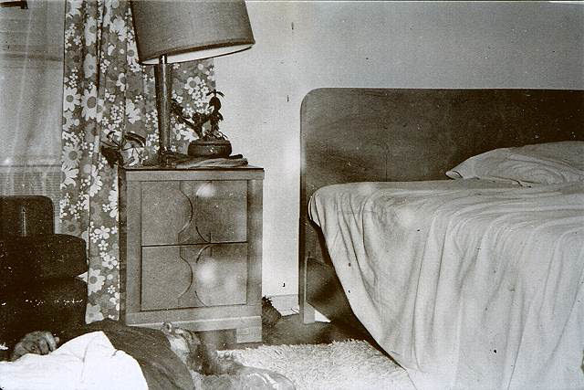 Colette's lifeless body as found by the MPs and CID investigators February 17, 1970