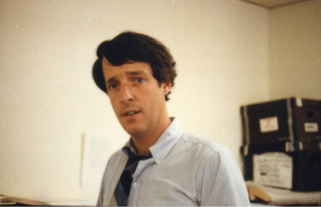 Joe McGinniss (author of Fatal Vision) during the 1979 trial
